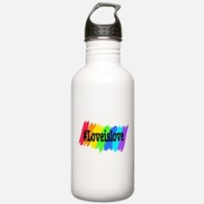Love is Love Marriage Equality Water Bottle