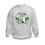 Castanho Family Crest  Kids Sweatshirt