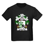 Castanho Family Crest  Kids Dark T-Shirt