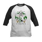 Castanho Family Crest  Kids Baseball Jersey