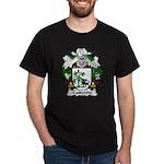Castanho Family Crest  Dark T-Shirt