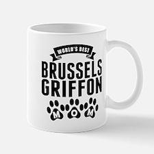 Worlds Best Brussels Griffon Mom Mugs