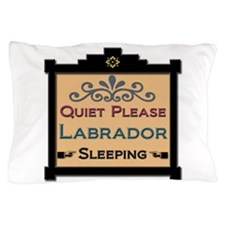 Labrador Sleeping Pillow Case