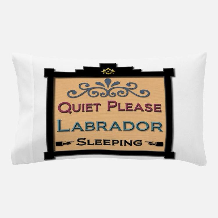 Labrador Sleeping Pillow Case
