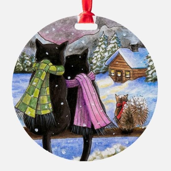 cat 585 Ornament