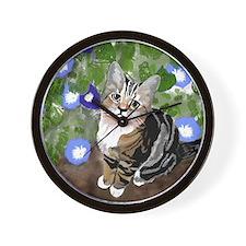 Stewie - The First Kitten Wall Clock