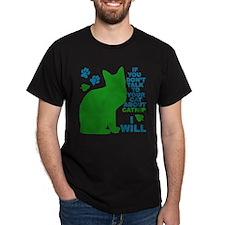 Funny Frisky cat T-Shirt