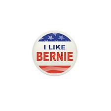 i like bernie stars stripes Mini Button