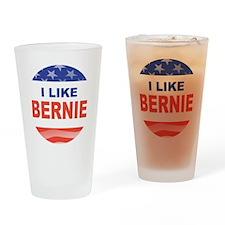 i like bernie stars stripes Drinking Glass