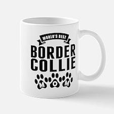 Worlds Best Border Collie Mom Mugs