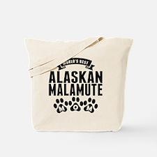 Worlds Best Alaskan Malamute Mom Tote Bag