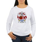 Carvahal Family Crest  Women's Long Sleeve T-Shirt