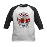 Carvahal Family Crest  Kids Baseball Jersey