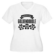 Worlds Best Goldendoodle Mom Plus Size T-Shirt