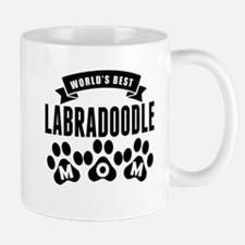 Worlds Best Labradoodle Mom Mugs