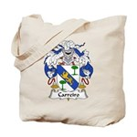 Carreiro Family Crest Tote Bag