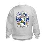 Carreiro Family Crest Kids Sweatshirt