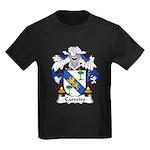 Carreiro Family Crest Kids Dark T-Shirt