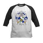 Carreiro Family Crest Kids Baseball Jersey