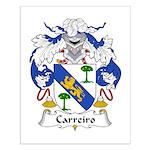 Carreiro Family Crest Small Poster