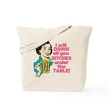Funny Beer Drinking Humor Tote Bag