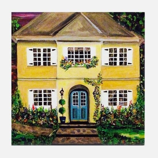 Sarah's Dream House Tile Coaster