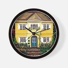 Sarah's Dream House Wall Clock