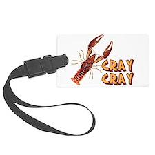 Cray Cray Crazy Crayfish Luggage Tag