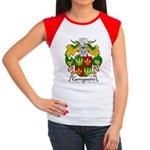Carregueiro Family Crest Women's Cap Sleeve T-Shir