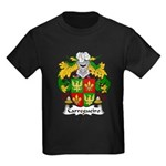 Carregueiro Family Crest Kids Dark T-Shirt