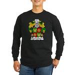 Carregueiro Family Crest Long Sleeve Dark T-Shirt