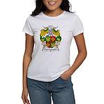 Carregueiro Family Crest Women's T-Shirt