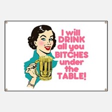 Funny Beer Drinking Humor Banner
