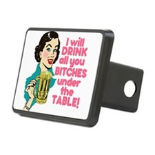Funny Beer Drinking Humor Hitch Cover