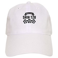 Worlds Best Shih Tzu Mom Baseball Baseball Cap