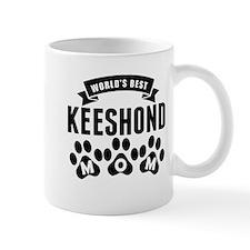 Worlds Best Keeshond Mom Mugs