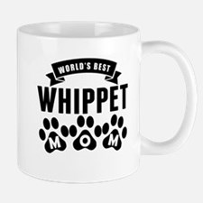 Worlds Best Whippet Mom Mugs