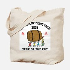 Chinese New Year Drinking Team Tote Bag