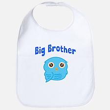 Big Brother Blue Owl Bib