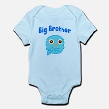 Big Brother Blue Owl Body Suit
