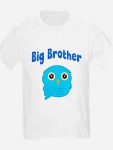 Big Brother Blue Owl T-Shirt