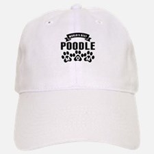 Worlds Best Poodle Mom Baseball Baseball Baseball Cap