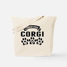 Worlds Best Corgi Mom Tote Bag
