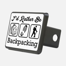I'd Rather Be Backpacking Hitch Cover