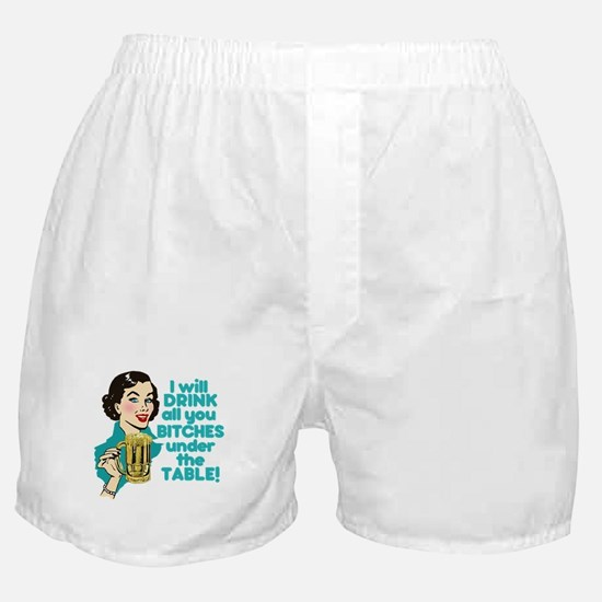 Funny Beer Drinking Humor Boxer Shorts