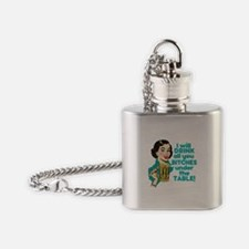 Funny Beer Drinking Humor Flask Necklace