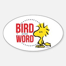Bird is the Word Decal