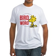 Bird is the Word Fitted T-Shirt