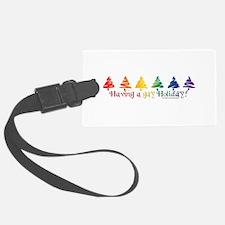 Gay Holiday Luggage Tag