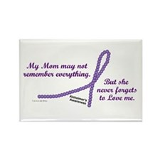 Never Forgets To Love (Mom) Rectangle Magnet